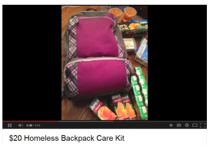 Homeless Backpack Kit