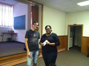 July SoupGrant winner Angie took home $98 on behalf of STARS.