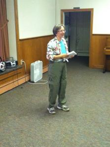 Yvonne from Go Green Trikes, LLC gave a great presentation - we hope you come back in September!